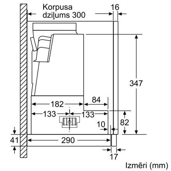 Įmontuojamas gartraukis Siemens LI67RA530