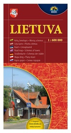 Kelių žemėlapis Lietuva