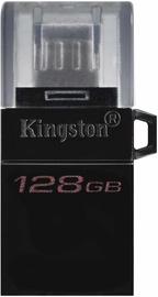USB atmintinė Kingston DataTraveler microDuo 3.0 G2 OTG, micro USB, 128 GB