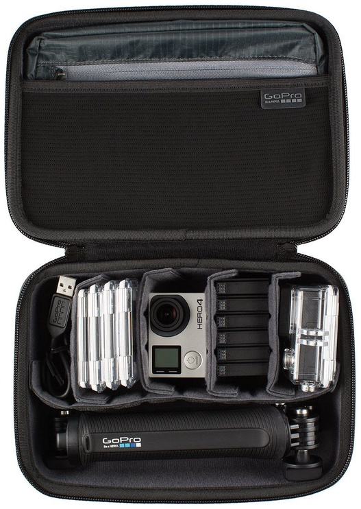 GoPro Case For Camera/Mounts/Accessories Black