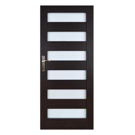 Vidaus durų varčia Everhouse Genua, wenge, dešininė, 74.4x203.5 cm
