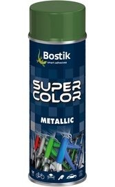 Aerosoolvärv Bostik Super Color Metallic roheline 400ml