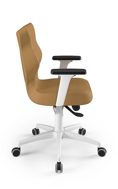 Entelo Perto White Office Chair VE26 Beige