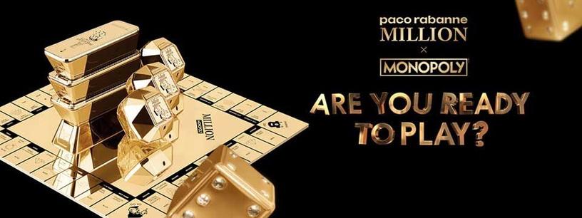 Kvepalai Paco Rabanne Lady Million Monopoly 80ml EDP Collector Edition