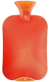 Fashy Hot Water Bottle 6420 00 2l Orange