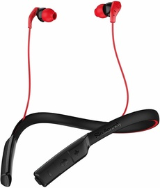 Skullcandy Method Bluetooth In-Ear Earphones Black/Red