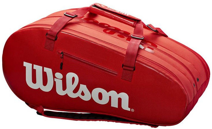 Wilson Super Tour 3 Compartment Bag Red