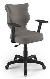 Офисный стул Entelo Uni AL02, коричневый/черный