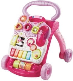 Vtech Baby Walker With Game Function Pink 80-077054
