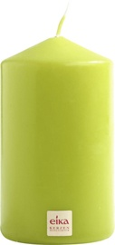 Eika Pillar Candle 14x8cm Green