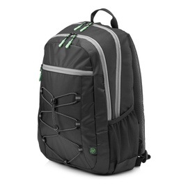 "Рюкзак HP Activce Black Backpack 15,6"" 1LU22AA, черный/зеленый, 15.6″"