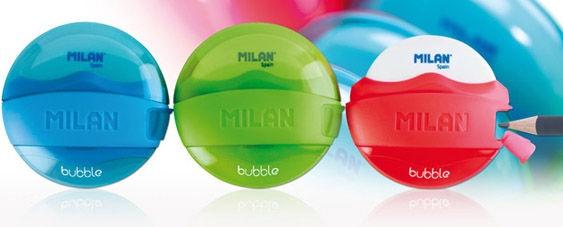 Milan Sharpener & Eraser Bubble