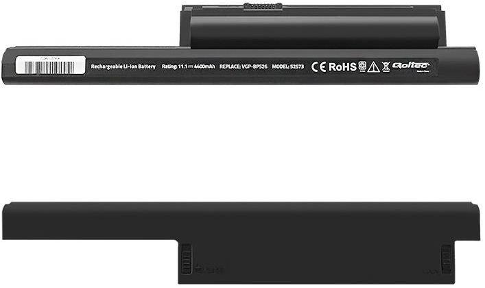 Аккумулятор для ноутбука Qoltec Long Life For Sony VGP-BPS26, 4.4 Ач, Li-Ion