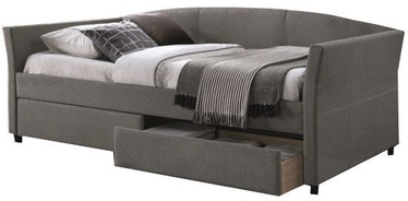 Signal Meble Lanta Bed 90x200cm Grey
