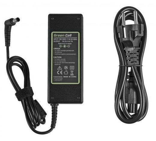 Green Cell Laptop Power Adapter For Sony 4.7A 90W