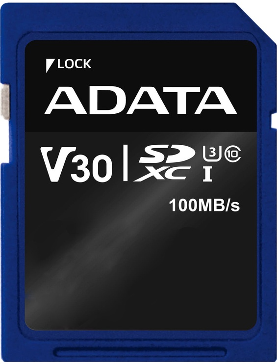 Adata Premier Pro 256GB SDXC UHS-I U3 Class 10 V30S