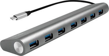 LogiLink USB-C 3.1 HUB 7-Port Grey