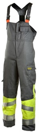 Dimex 6002 Bib & Brace Overall Grey/Yellow 2XL