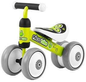 Bērnu rotaļu mašīnīte Milly Mally On Frog 1133, balta/melna/zaļa/pelēka