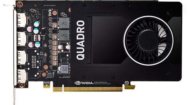 DELL NVIDIA Quadro P2000 5GB GDDR5 PCIE 490-BDTN