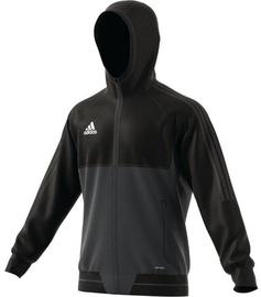 Adidas Tiro 17 Presentation Jacket AY2856 Black Grey L