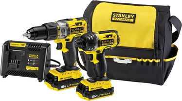Stanley FMCK461C2-QW Impact Drill/Screwdriver Kit
