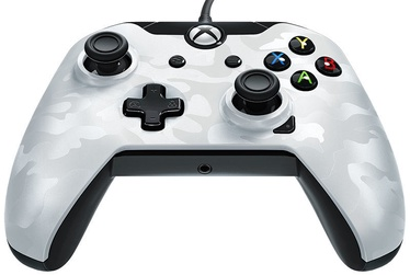 Pdp Stealth Series Wired Controller Ghost White Camo