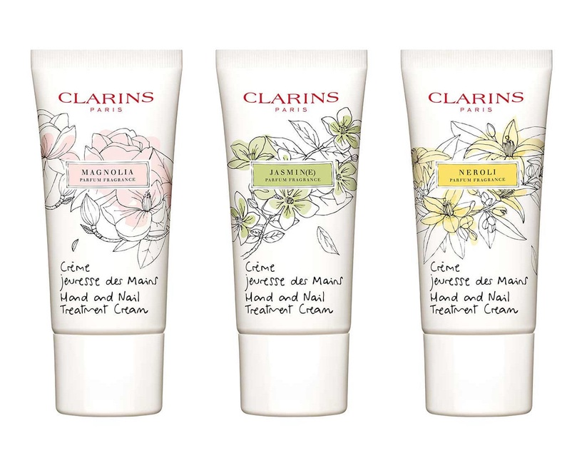 Clarins Hand and Nail Treatment Cream 30ml Magnolia