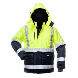 Baltic Canvas Winter Jacket 8946 Blue/Yellow XXL