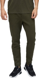 Audimas Mens Cotton Tapered Fit Sweatpants Olive 184/S
