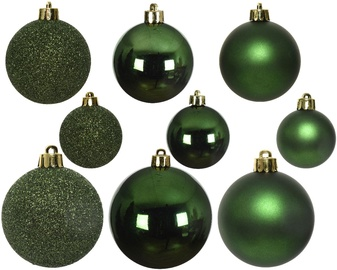 Елочная игрушка Decoris 022992, зеленый, 30 шт.
