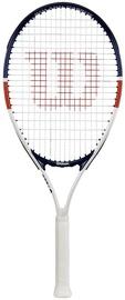 Tennisereket Wilson Roland Garros Elite, sinine/valge