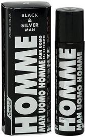 Tualetes ūdens Omerta Black & Silver Man 100ml EDT