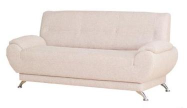 Dīvāns Bodzio Livonia 3 Fabric Cream, 184 x 76 x 89 cm