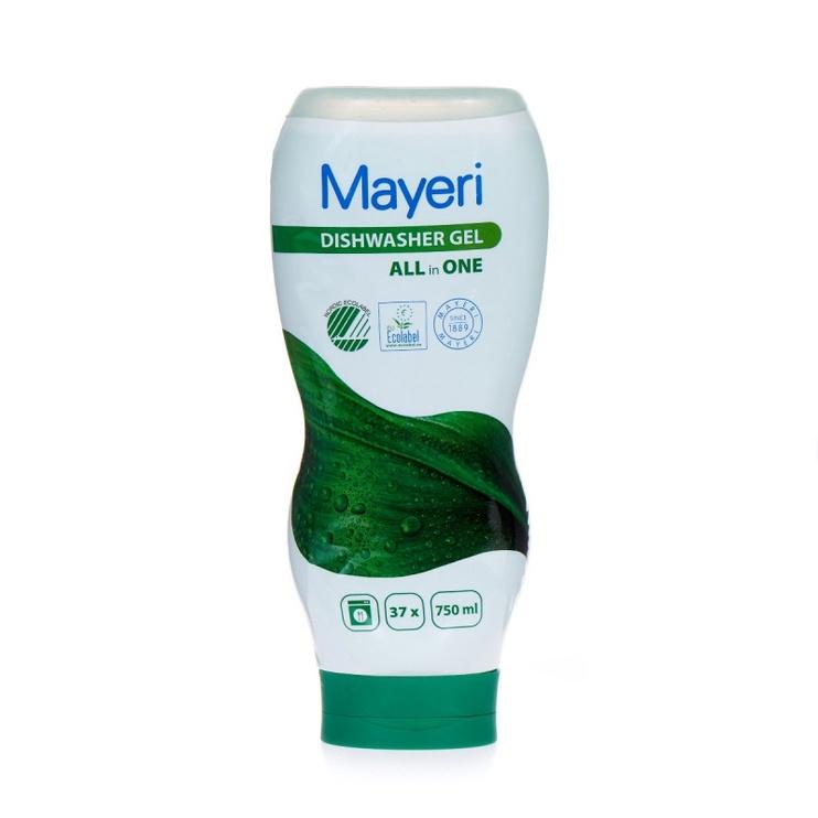 Жидкость для посудомоечной машины Mayeri All-in-One, 750 мл