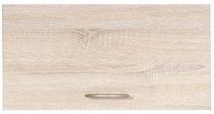 Верхний кухонный шкаф Black Red White Junona Line GO/60/30 Sonoma Oak, 600x305x300 мм