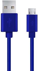Esperanza Cable USB to USB-micro Blue 0.5m