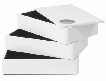Umbra Spindle Jewelry Box White