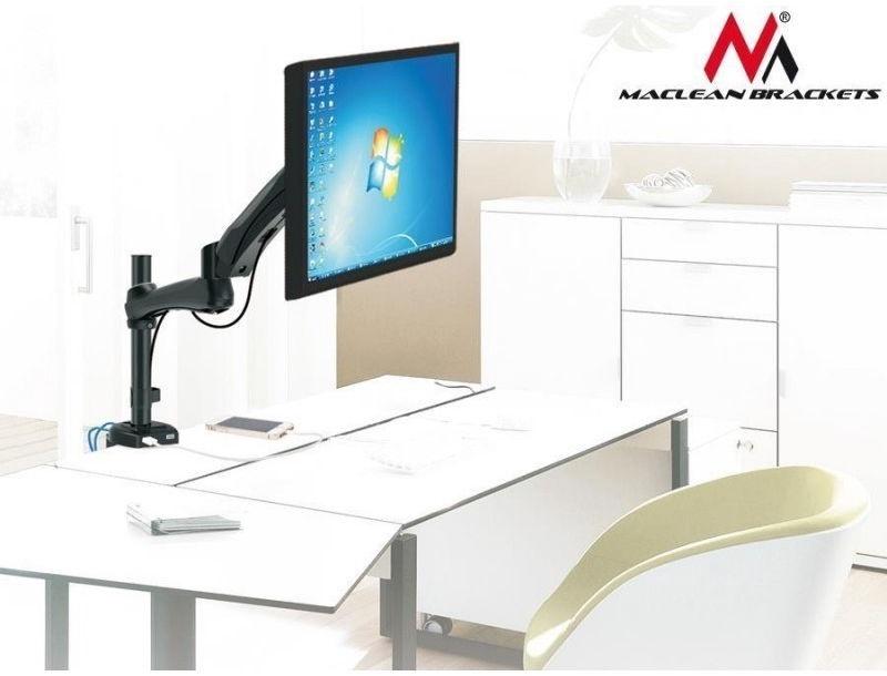 """Televizoriaus laikiklis Maclean MC-669W Desk Mount 13""""-27"""""""