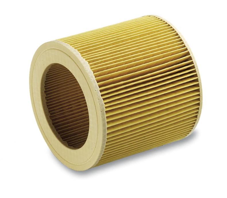 Gofruotas dulkių siurblio filtras Karcher 6.904-552.0 WD3.200 / A2004