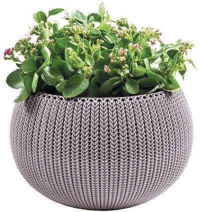 Curver Flower Pot Cozy S 231128 Violet