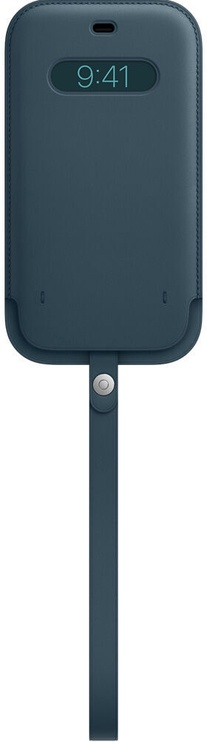 Чехол Apple iPhone 12 Pro Max Leather Sleeve with MagSafe, синий