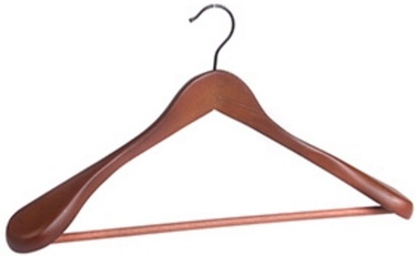 Home4you Jacket Hanger 45cm Dark