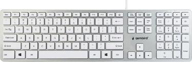Gembird MCH-02 Chocolate Keyboard White