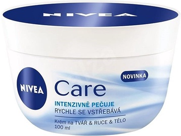 Nivea Care Intensive Nourishment Cream for Body & Face 100ml