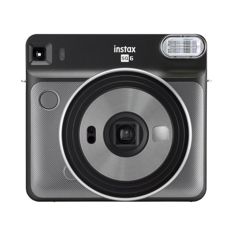 Momentinis fotoaparatas Fujifilm Instax Square SQ6, pilkas