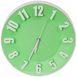Platinet Today Wall Clock 42991 Green