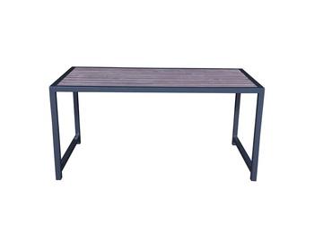 Садовый стол DG-002, серый, 148 x 76 x 75 см