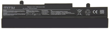 Mitsu Battery For Asus Eee PC 1005 4400mAh