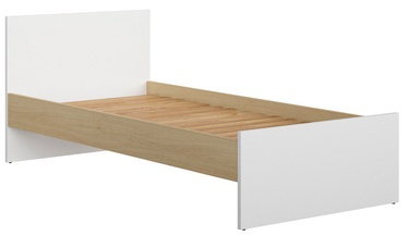 Lova Black Red White Princeton 90 White Oak, 90 x 200 cm